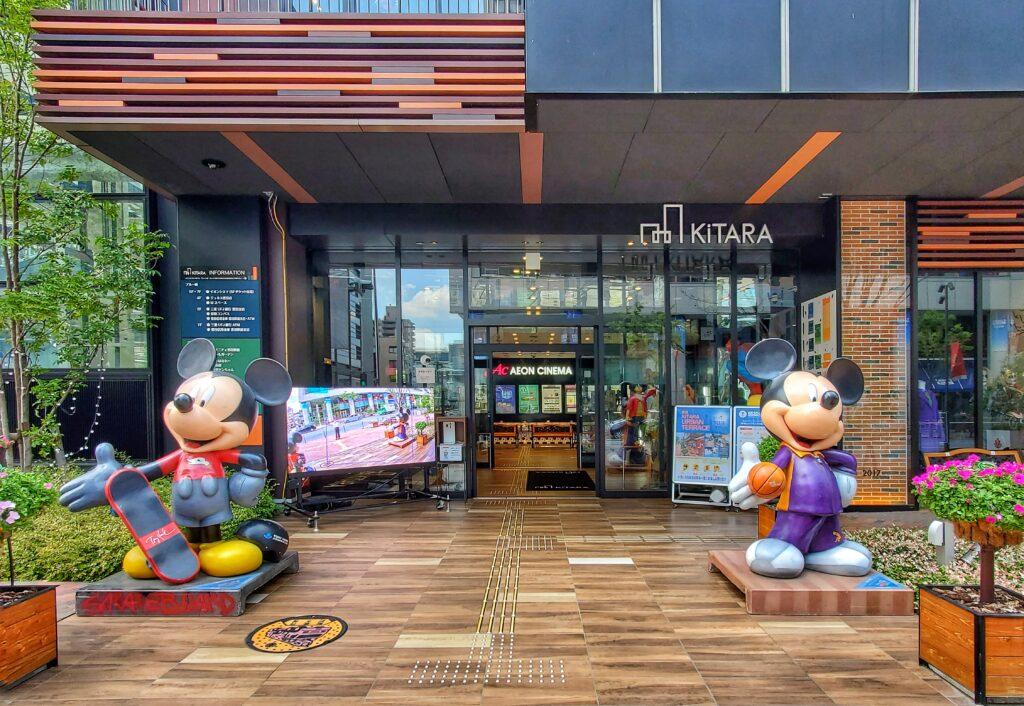 KiTARA入口のミッキー